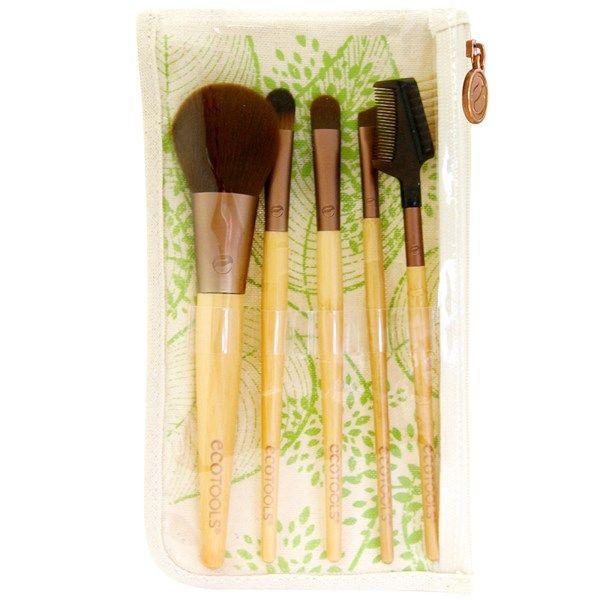 EcoTools, Bamboo 6 Piece Brush Set, 1 Set