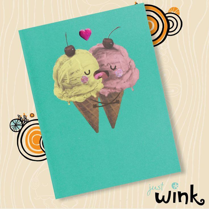 #justwink #birthday #Love #greetingcard