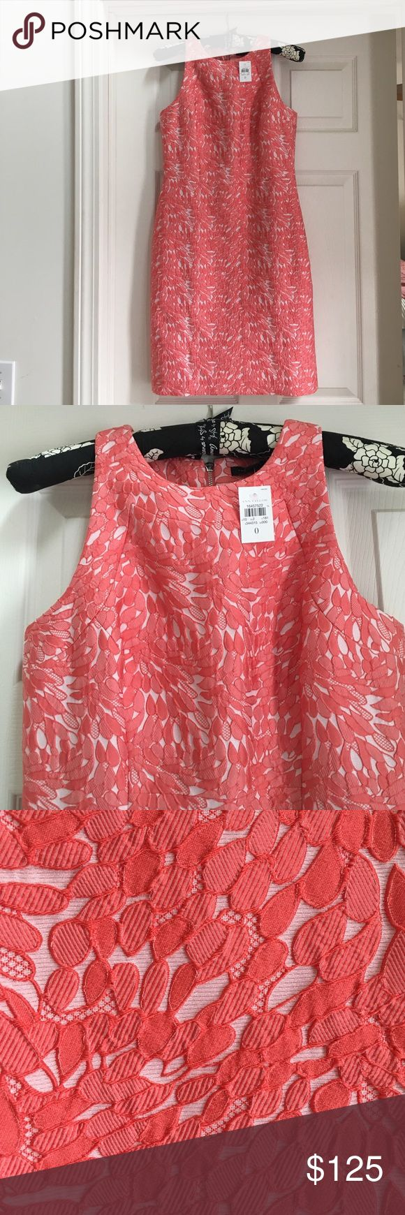Coral Ann Taylor size 0 petite summer dress Summer is around the corner! Perfect summer dress from Ann Taylor in coral, size O. Perfect for work, weddings or any special celebration! Ann Taylor Dresses Midi