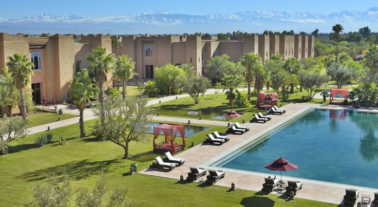 Travel Inspiration for Morocco - Blue Diamond Sahara Palace Marrakech as featured in the second Sex in the City Movie
