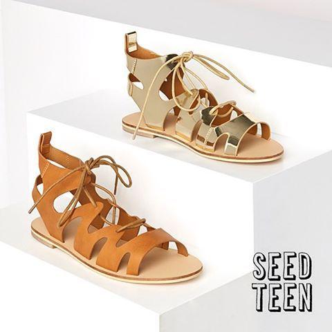 Gladiator sandals – the coolest summer footwear! #seedheritage #seedteen
