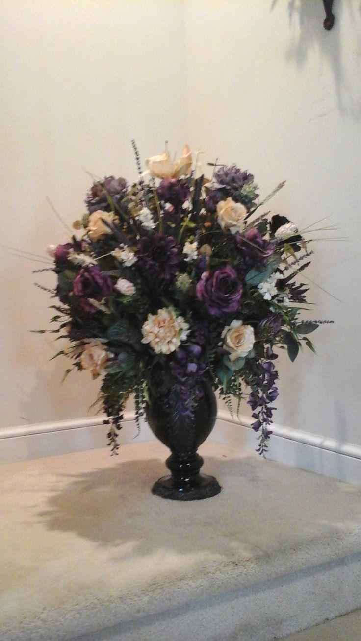 EL Floral Arrangement, Floral Centerpiece, SHIPPING INCLUDED, Elegant  Luxury Foyer, Floor, · Silk Floral ArrangementsFloral CenterpiecesTable ...