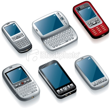 Different Models of Todays Mobile Phones.