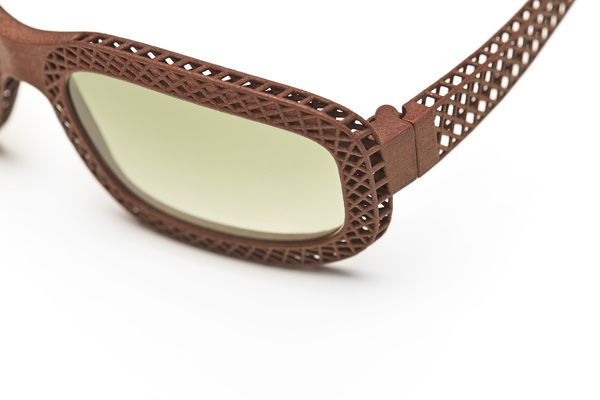 Hatch - 3d printed sunglasses for Eyewear Kit by Michiel Cornelissen, via Behance