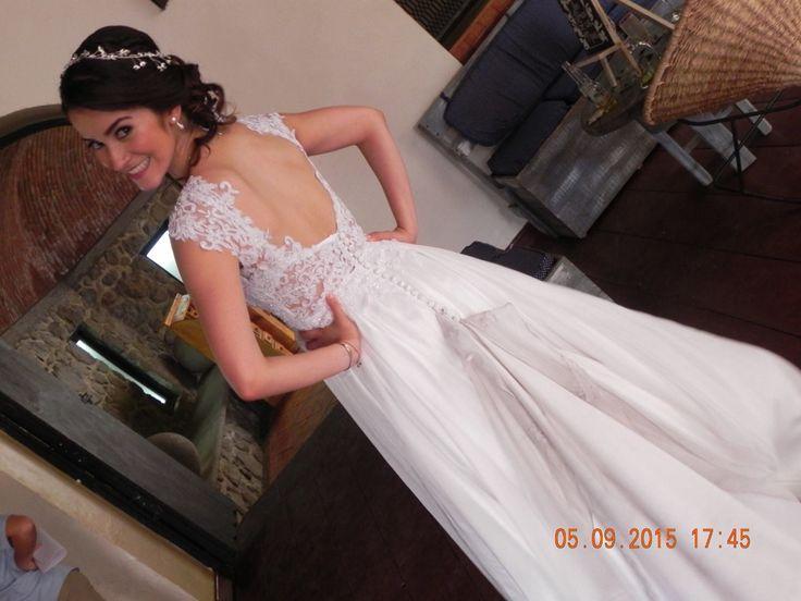 Backless Wedding Dress, vestido de novia