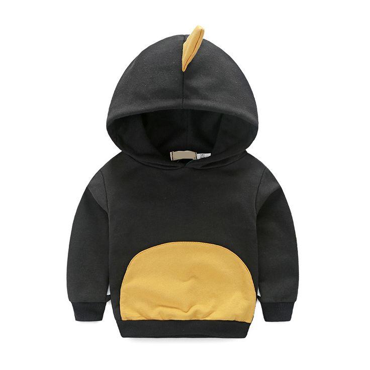 New Autumn Baby Boy Clothes Long Sleeved Coats Children Hoodies Sweatshirts Dinosaur Outwear Kids Cartoon Clothing V49 //Price: $47.34 //     #fashionkids