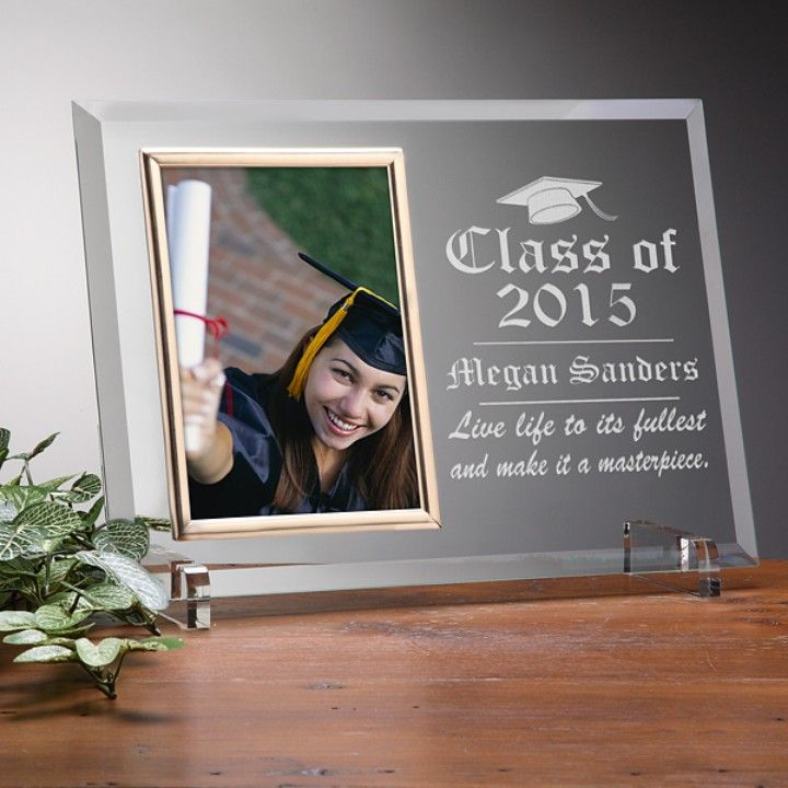 Graduate Personalized Photo Frame from The BEST OF BOTH WORLDS BOUTIQUE MONOGRAM AND GIFTS for $45.00