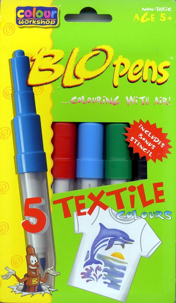 Blopens Textilstifte Pustestifte 8,90