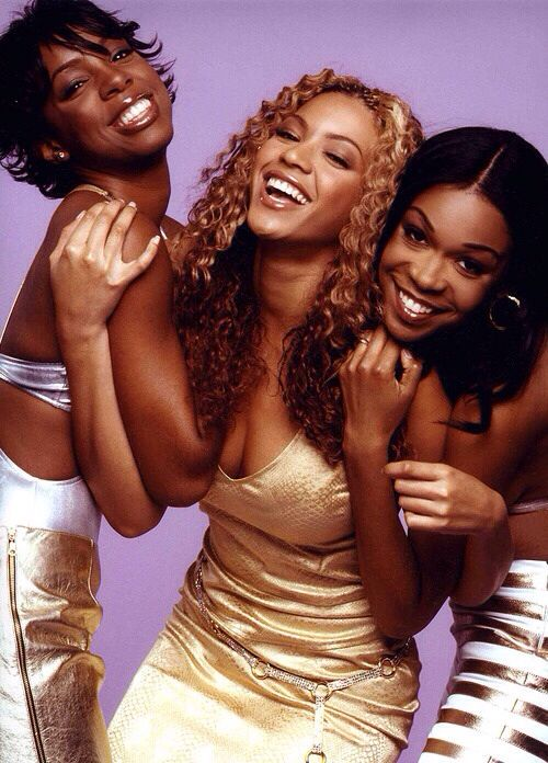 Destiny's Child. If I had to choose one artist to signify my childhood it would be these three women. I have grown up listening to Destiny's Child and they have inspired me and taught me so much through their music. Sounds weird but it's true. In two years it will be 10 years since they broke up. I can't believe how old that makes me feel. Reunion tour please.