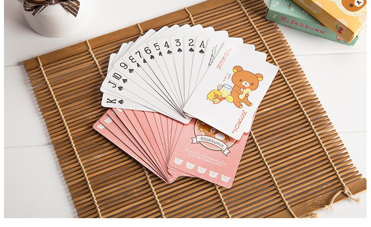 Texas Holdem Cute Bear poker waterproof playing cards Tabletop Game water proof board game gambling, family fun poker game PY160  http://playertronics.com/products/texas-holdem-cute-bear-poker-waterproof-playing-cards-tabletop-game-water-proof-board-game-gambling-family-fun-poker-game-py160-2/