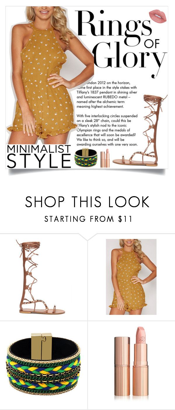 """Yoins: Yellow Playsuit"" by loveyoins ❤ liked on Polyvore featuring Tiffany & Co."