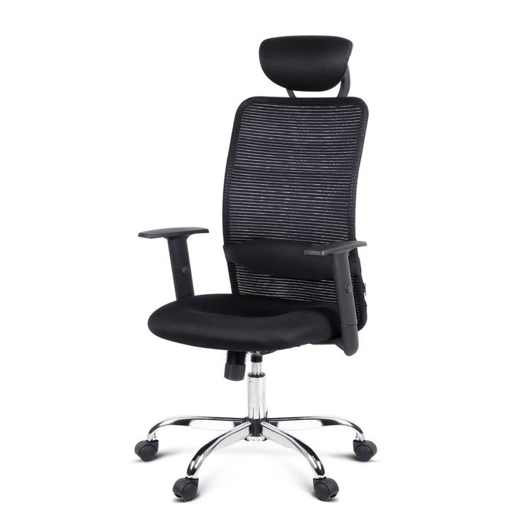 Eames Replica Office Chair Mesh Computer Office Boardroom Chair w/ Lumbar Support Black