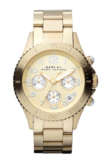 MARC BY MARC JACOBS 'Rock' Chronograph Bracelet Watch   Nordstrom