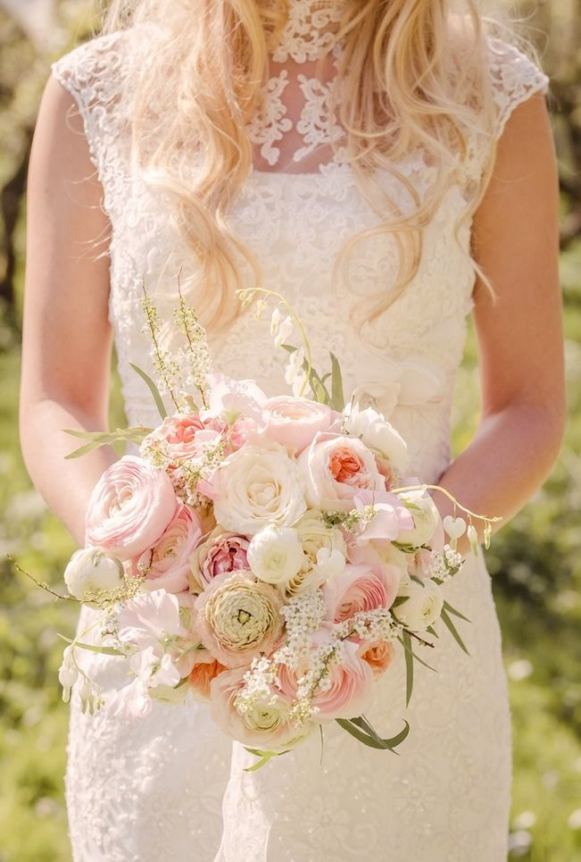 Rustic Peach Blossom Styled Shoot {Wedding Eve} 6