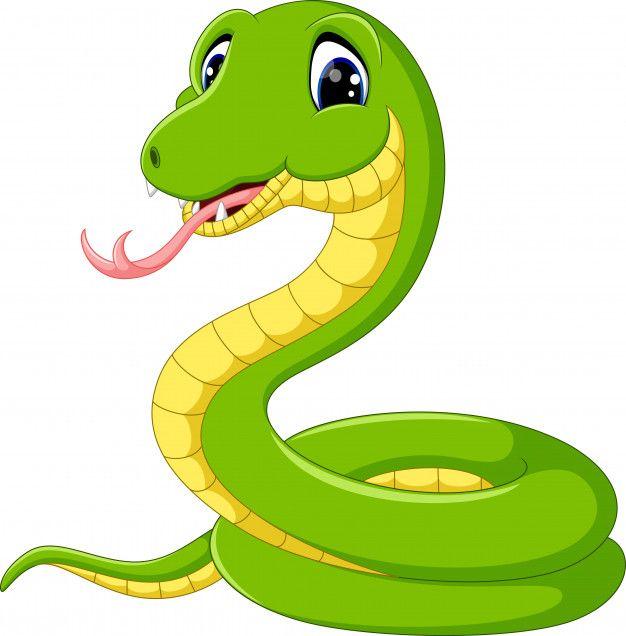Desenho De Cobra Verde Bonito Com Imagens Desenho De Cobra