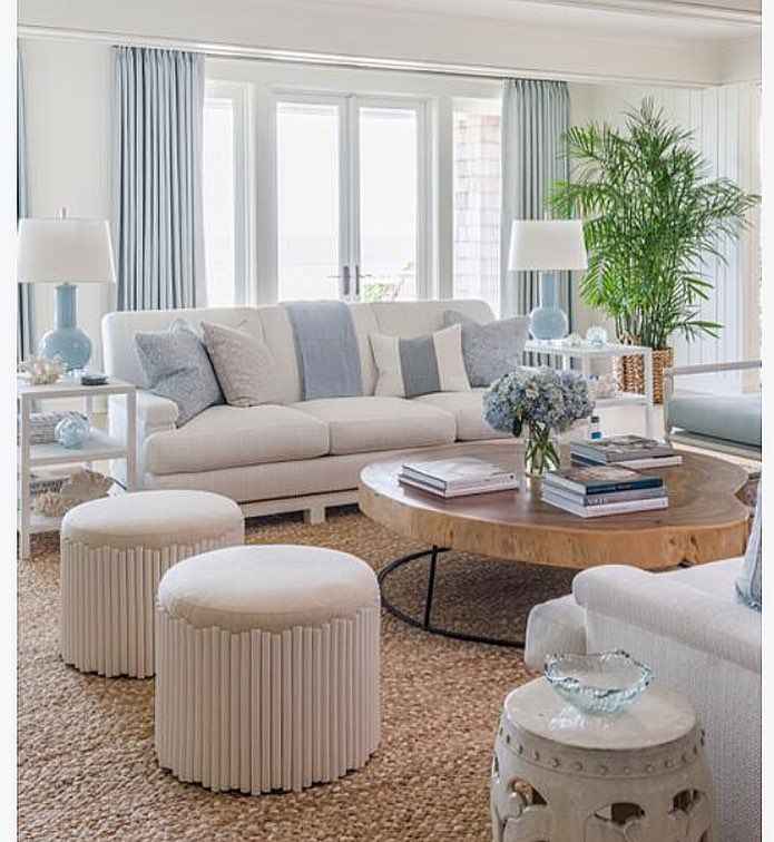 Pin By Sumner Starling On Ideas For Homes And Gardens Beach Living Room Furniture Beach Living Room Coastal Living Rooms