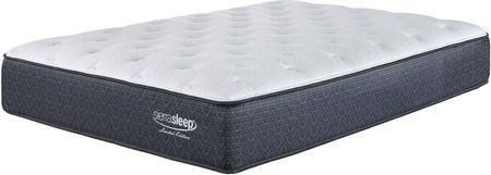 "Limited Edition Plush M79851 13"" Thick California King Size Mattress with Super Soft Quilt Foam 680 Wrapped Coil System and High Density Foam Encasement in White"