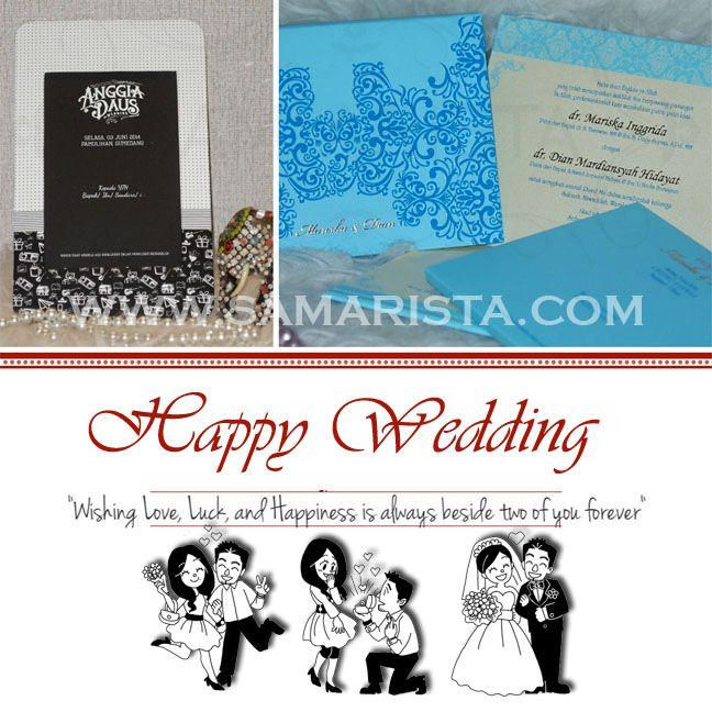 Happy Wedding for Wonderful Couple ❣ ❧ Mariska Inggrida & dr. Dian Mardiansyah Hidayat ; ❧ Anggia Cendrawati & M. Firdaus Gonia.  ~03 Juni 2014~  Info & Pemesanan Kartu Undangan Hub : 022-5223378/70706073 Jl. Pasirluyu Timur No. 155-157 Bandung... Cetak Cepat & Rapi, Harga Murah bs disesuaikan dgn budget, Desain dpt dirubah sesuai keinginan..  #kartu #undangan #pernikahan #samarista #wedding #invitation #card  #soft #cover #perkawinan #best