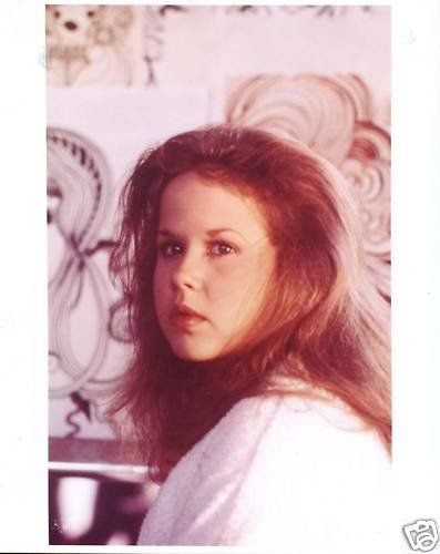 Cute young Linda Blair portrait photo - SWEET HOSTAGE (1975) - ღ Once Upon A Time Emma Gilbert ♥●•·
