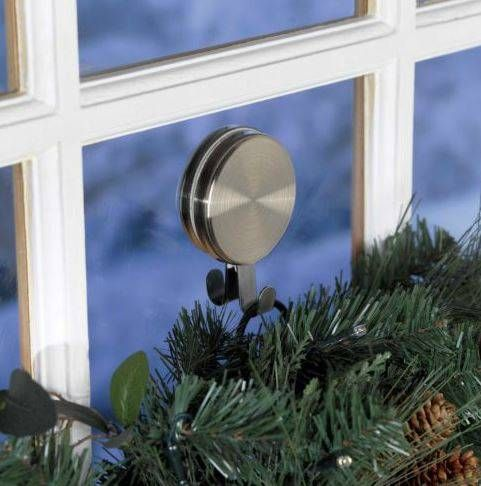 Over The Door Wreath Hangers   Brass Magnetic Double   What A Lifesaver!  How To