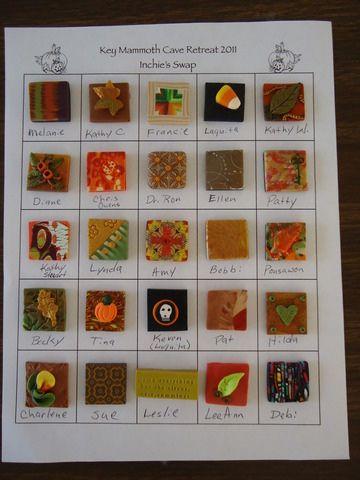 Samen met een groep vrienden een Inchies kaart of kunstwerk maken. Verzin een leuk thema en laat iedereen een Inchie maken. Erg leuk om te maken en het resultaat is afwisselend.