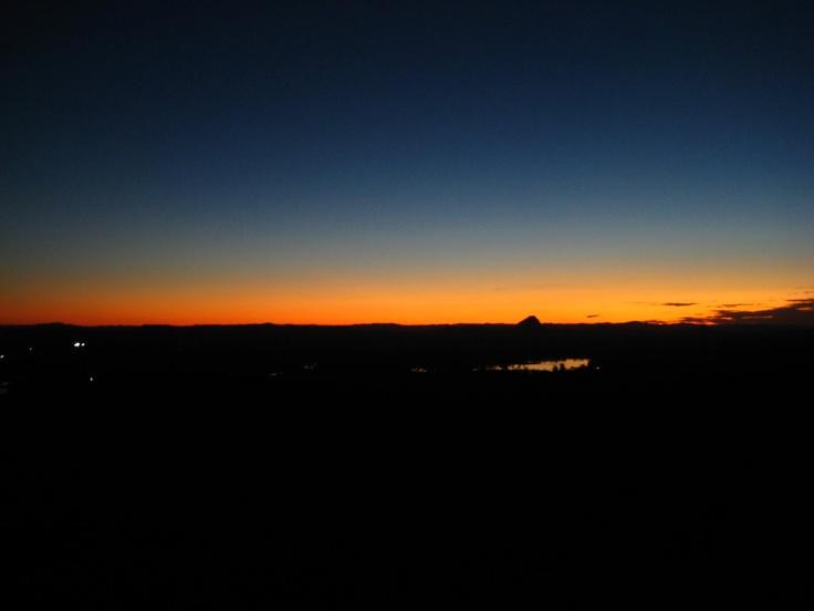 Sunset from Mt Tinbeerwah