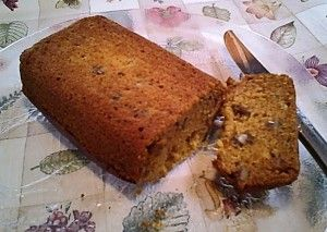 Gluten-Free Pumpkin Bread with Honey and Maple