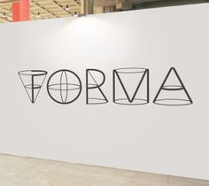 Cleverly made typeface created by using a 3D effect to make the type stand out from the page.