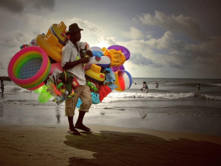 Colored Afternoon, Cartagena, Colombia by Nicole Akl Estela