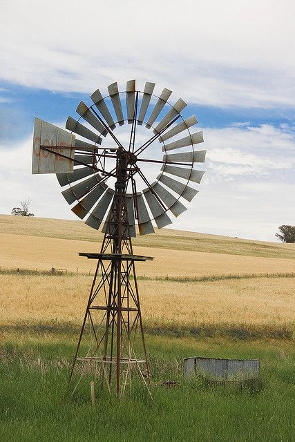 windmill...I got one for Mother's Day from one of our fields...now to get it put back up! So excited!!