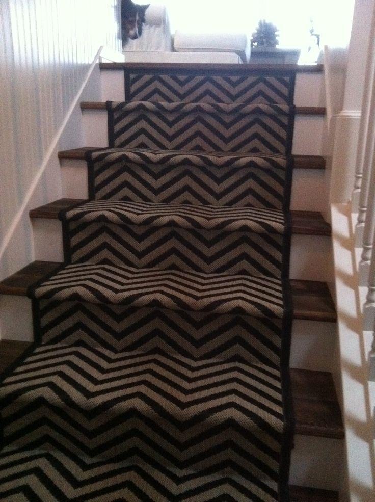 Best Chevron Stair Runner Stair Runner Stairs House Decor 400 x 300