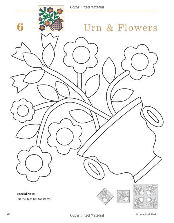 Amazon 101 Applique Blocks 9781592173136 Nancy Brenan Daniel Books Quilt PatternsApply