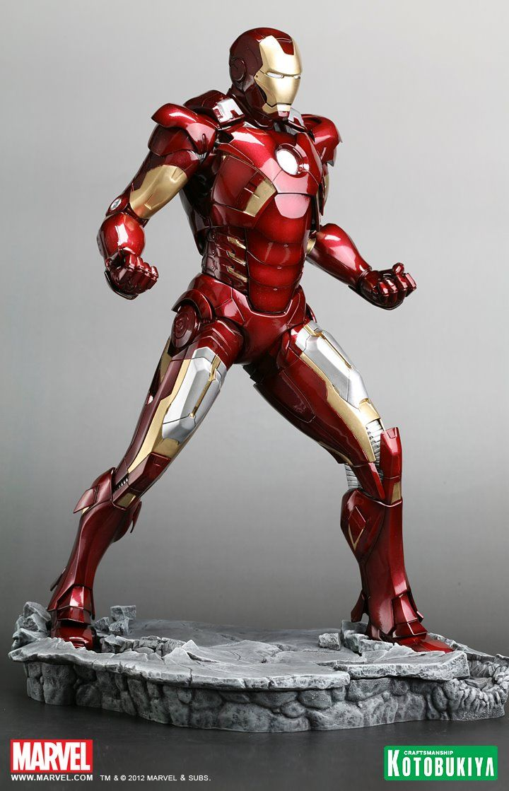 The best Iron Man action figure ever? I WANT it!