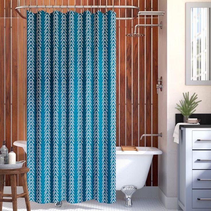 Mistana Adeline Single Shower Curtain & Reviews Wayfair