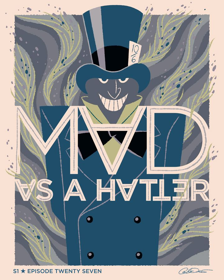 """Batman The Animated Series Episode 27 """"The Mad Hatter"""" - George Caltsoudas"""