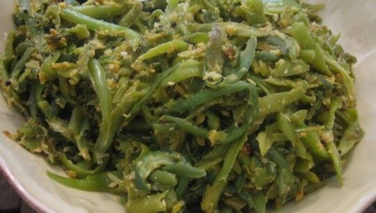 dads-french-style-green-beans (using frozen french style green beans)