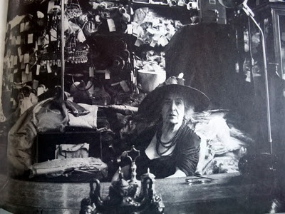 "Rose Cumming in her famous Park Avenue shop from ""The New York Times Book of Interior Design and Decoration"" by Norma Skurka"