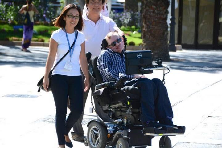 Stephen Hawking en Gran Canaria