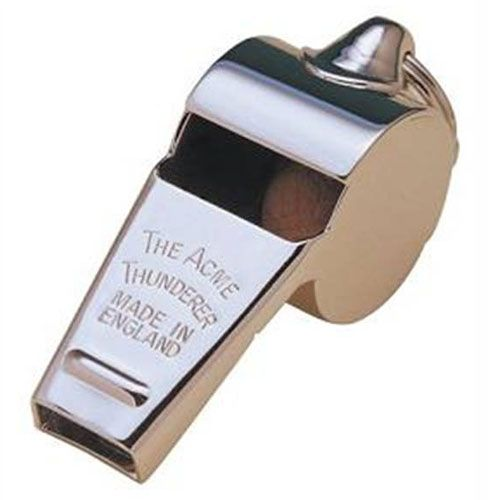 ACME Whistles are just best whistles you can buy on the market. They come in various sizes, and materials so there is no reason not to find the correct one for you.