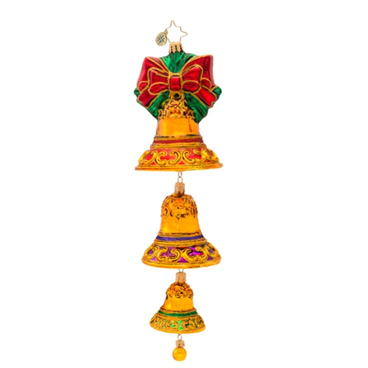 Bell Decoration Brilliant 17 Best Christopher Radko Bell Ornaments Images On Pinterest Review