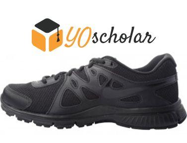 Nike Revolution2-Black-Unisex-Lace Shoes