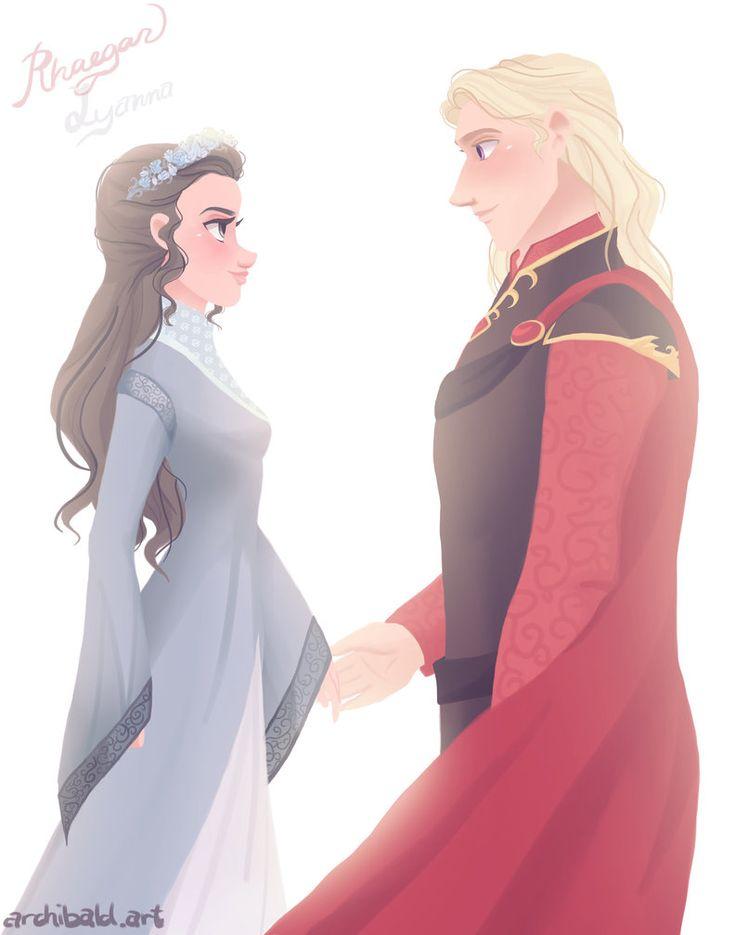 Rhaegar and Lyanna by John Greeko