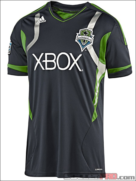 designer fashion 8f68d a16e2 2015 16 seattle sounders blank away soccer shirt kit