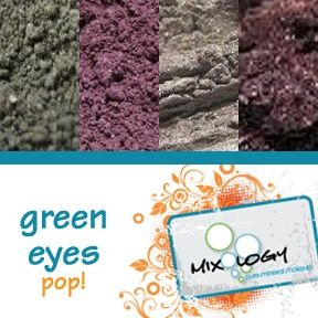 Green Eyes POP by MixologyMakup.com