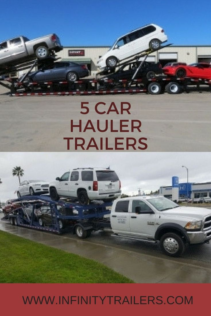 Pin By Infinity Trailers On Infinity Trailers Car Hauler Trailer