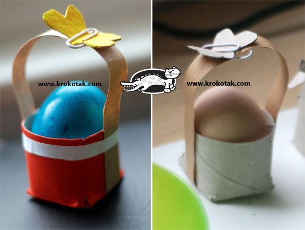 Toilet Roll EGG STANDS