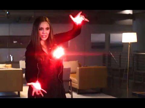 Captain America Civil War( Wanda Maximoff) Elizabeth Olsen