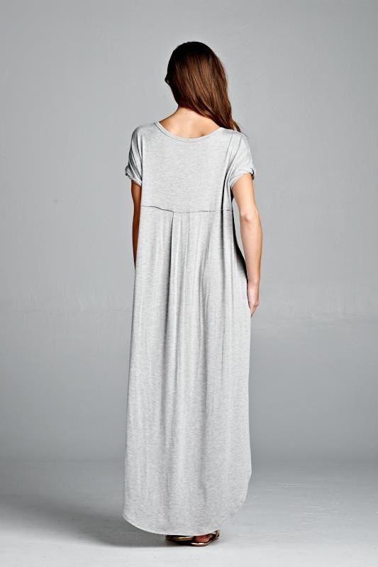 Fave Tshirt Maxi Dress with Pockets