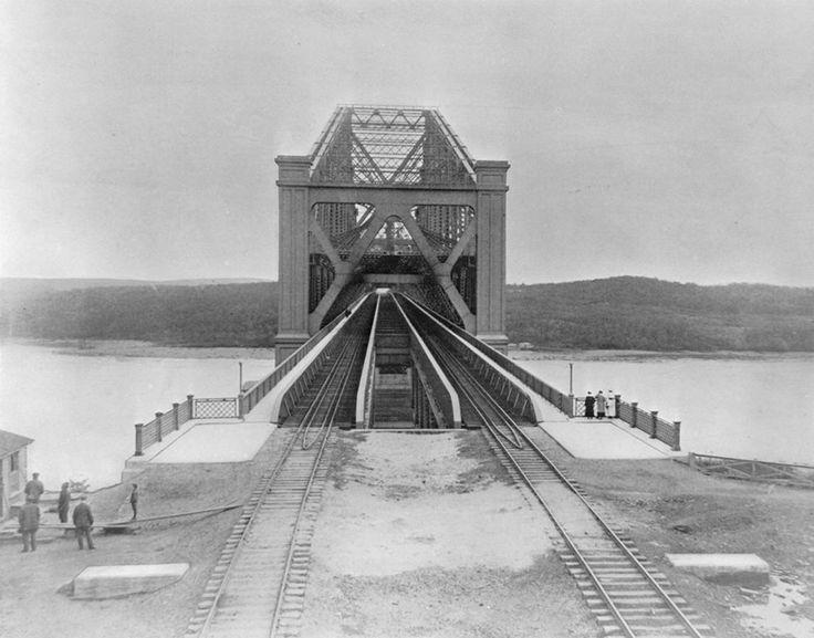 Ville de Québec - Pont de Québec 1920.