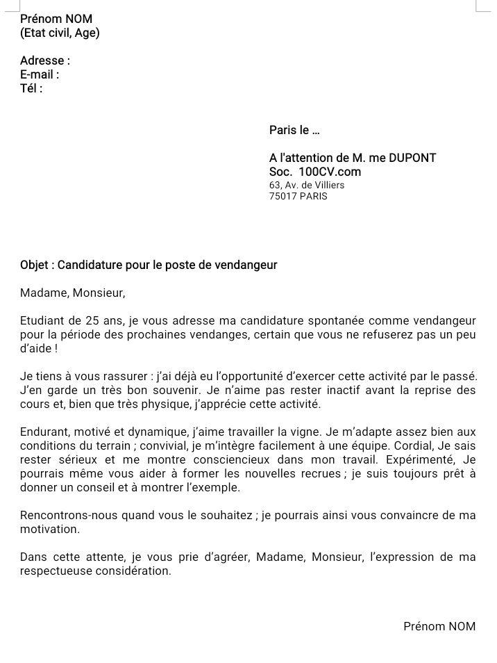 Telecharger Les Cv Et Les Lettres De Motivation 790 Modeles Https Ift Tt 37munll